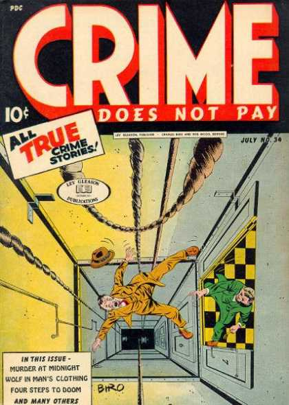 Crime Does Not Pay 34
