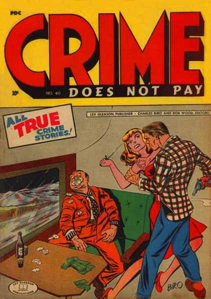 Crime Does Not Pay 40 - Tied Up - Assault - Kidnapping - True Stories - Window