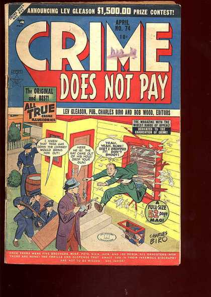 Crime Does Not Pay 74