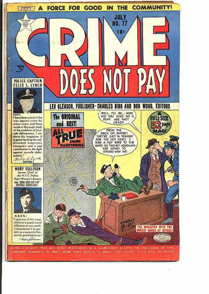 Crime Does Not Pay 77