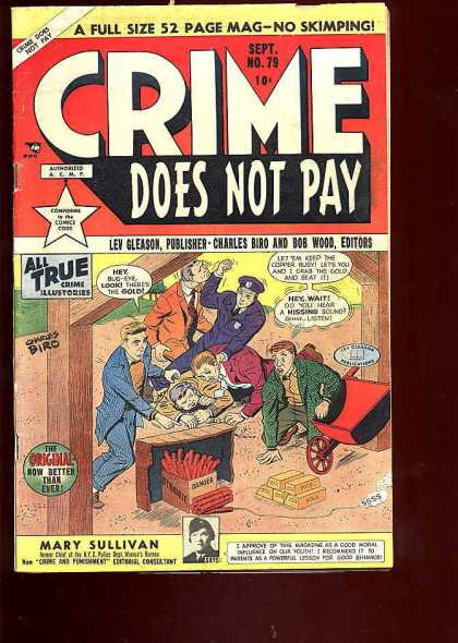 Crime Does Not Pay 79