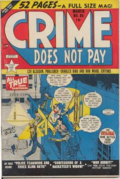 Crime Does Not Pay 85