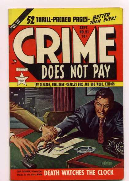 Crime Does Not Pay 91