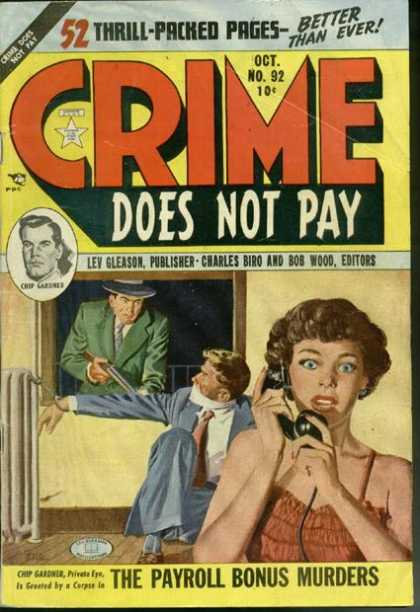 Crime Does Not Pay 92