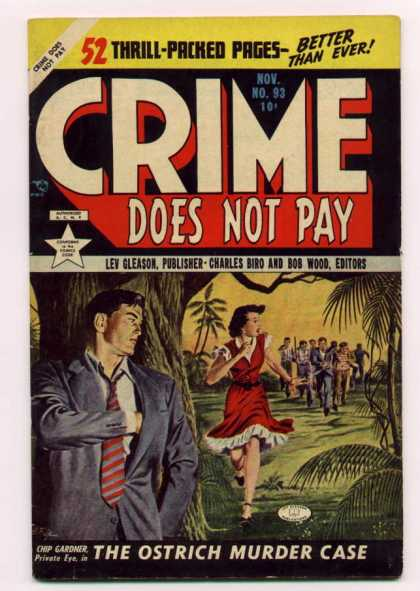 Crime Does Not Pay 93