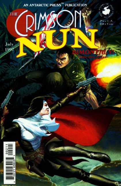Crimson Nun 2 - Nun - Japan - Gunfight - Action - Jungle - Esad Ribic