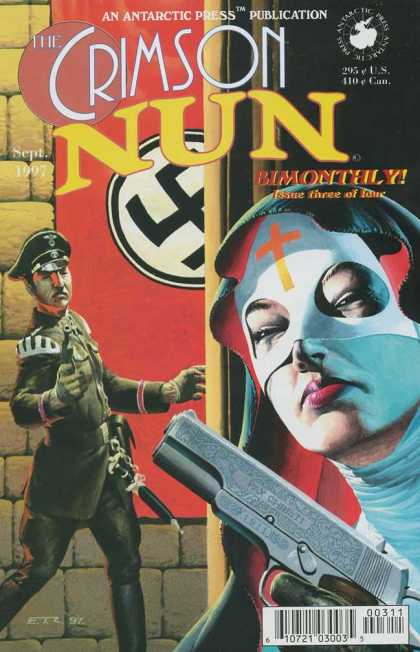 Crimson Nun 3 - Antarctic - Nazi - Military - Army - Bimonthly - Esad Ribic