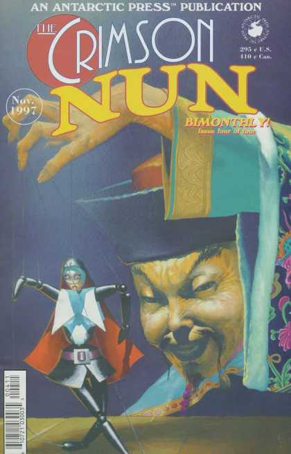 Crimson Nun 4 - An Antartic Press - Nov 1997 - Bimonthly - Issue Four - Us - Esad Ribic