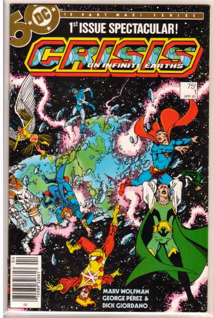Crisis on Infinite Earths 1 - George Perez