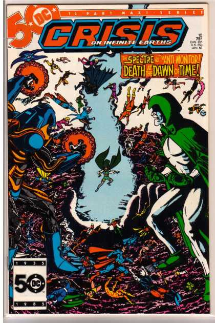 Crisis on Infinite Earths 10 - George Perez