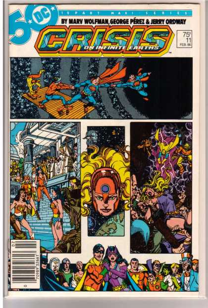 Crisis on Infinite Earths 11 - George Perez