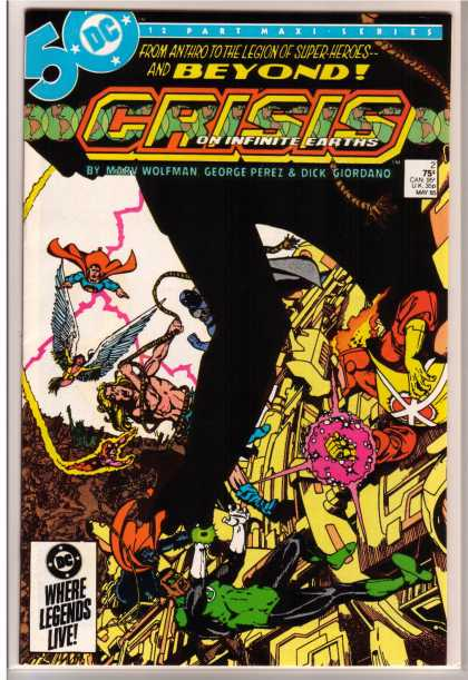 Crisis on Infinite Earths 2 - George Perez