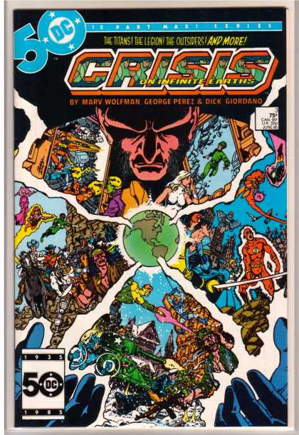 Crisis on Infinite Earths 3 - George Perez