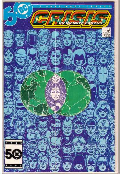 Crisis on Infinite Earths 5 - George Perez