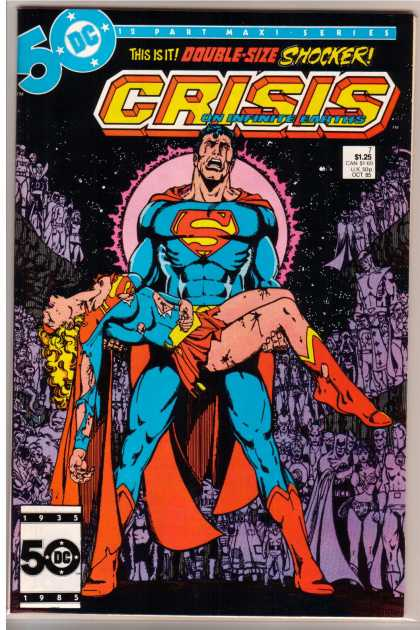 Crisis on Infinite Earths 7 - George Perez
