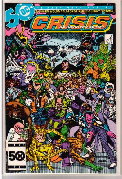 Crisis on Infinite Earths 9 - George Perez