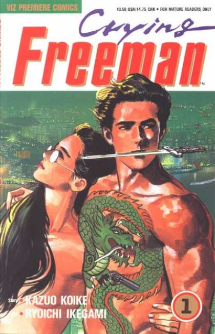 Crying Freeman 1 - Ryoichi Ikegami