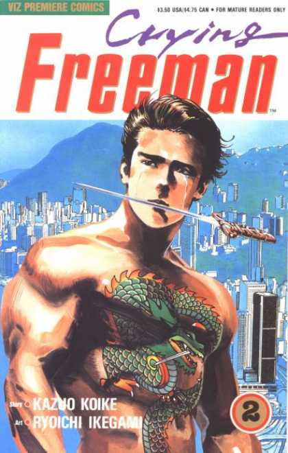 Crying Freeman 2 - Ryoichi Ikegami
