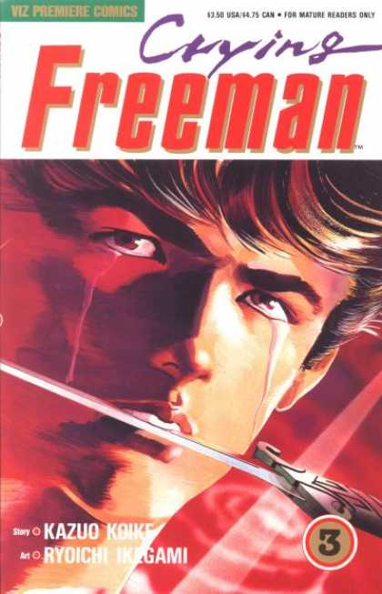 Crying Freeman 3 - Ryoichi Ikegami