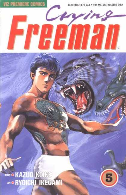 Crying Freeman 5 - Ryoichi Ikegami