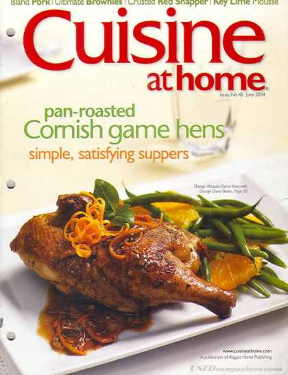 Cuisine At Home - June 2004
