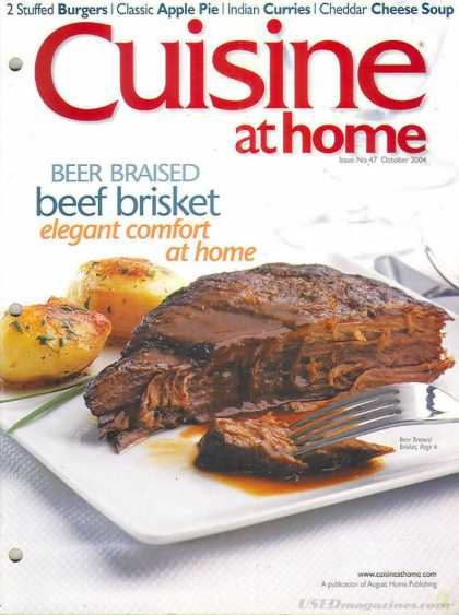 Cuisine At Home - October 2004