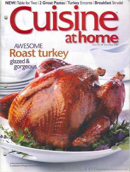 Cuisine At Home - December 2004