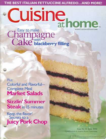 Cuisine At Home - June 2002