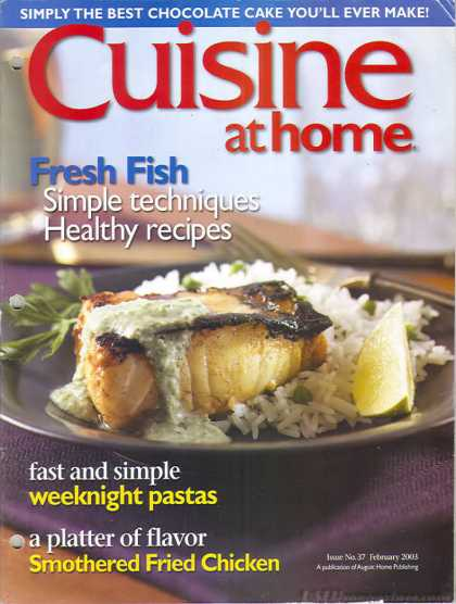 Cuisine At Home - February 2003