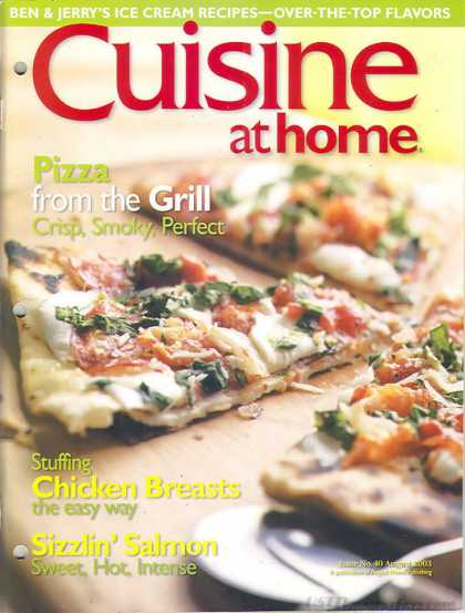 Cuisine At Home - August 2003