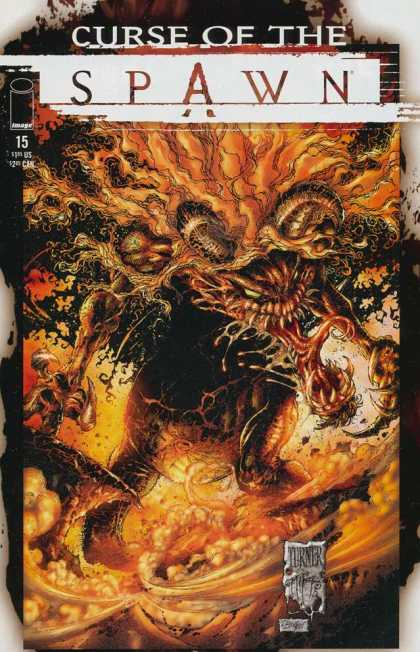 Curse of the Spawn 15 - 15 - Turner - Image - Yellow - Black