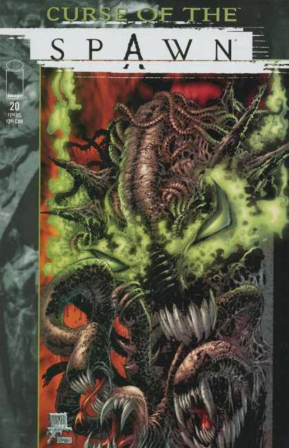 Curse of the Spawn 20 - Curse - Spawn - Alien - Green - Tentacles