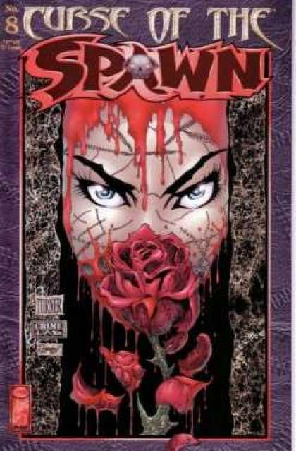 Curse of the Spawn 8 - Rose - Woman - Blood - Blue Eyes - Gothic Style