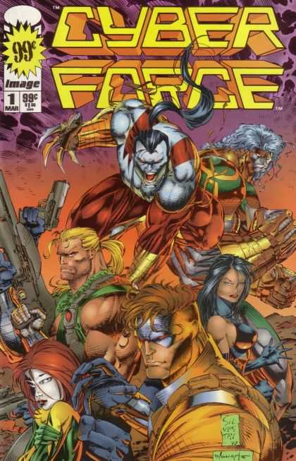 Cyberforce 1 - Marc Silvestri, Scott Williams