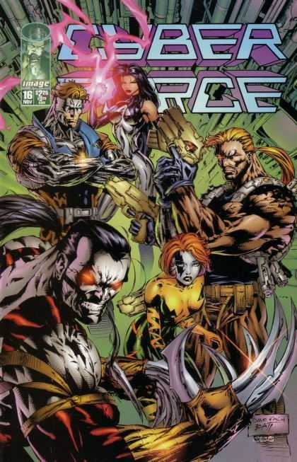 Cyberforce 16 - David Finch