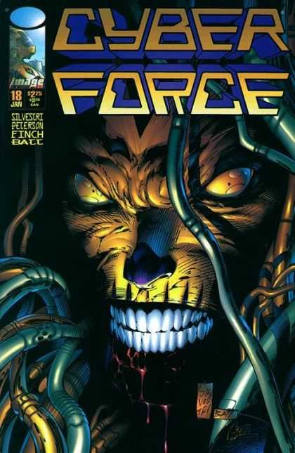 Cyberforce 18 - David Finch