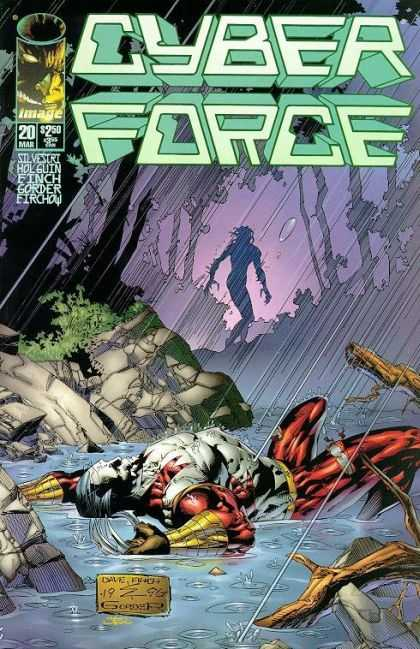 Cyberforce 20 - Gone - The Last Storm - Cyberstorm - Lost In The Storm - Grizzlyman - David Finch