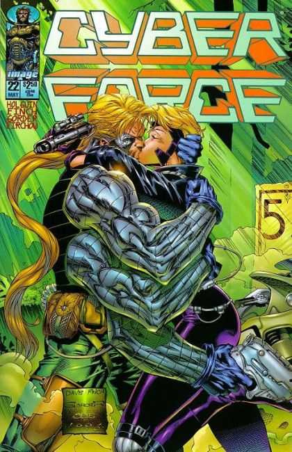 Cyberforce 22 - David Finch