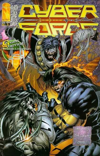 Cyberforce 27 - David Finch