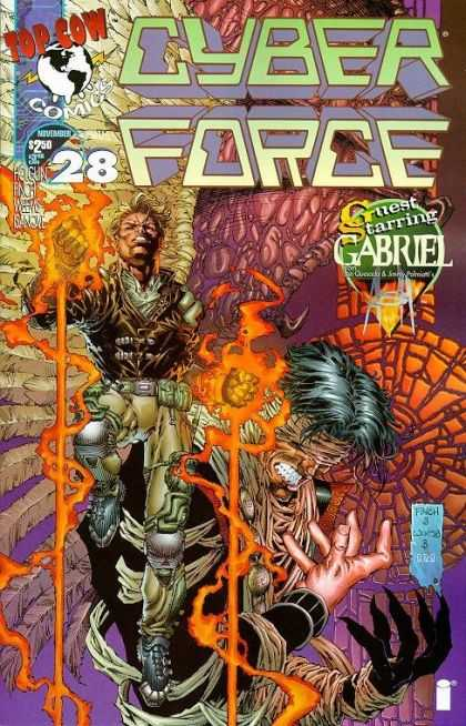 Cyberforce 28 - David Finch