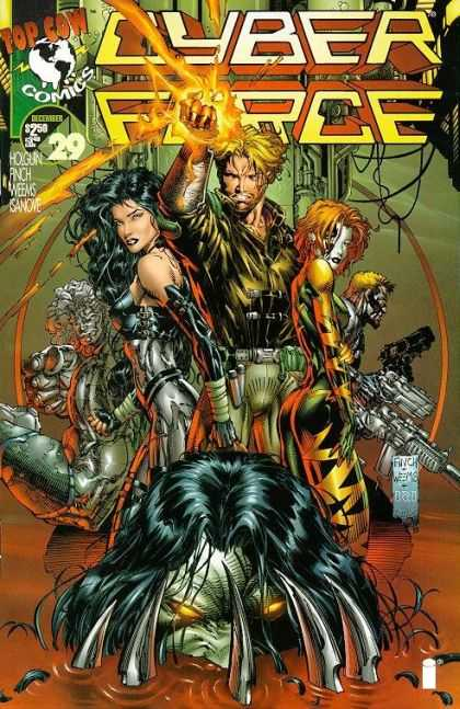 Cyberforce 29 - Hot Men - Fountestic 5 - Ghoost Killer - Future Saver - Earth Soldier - David Finch