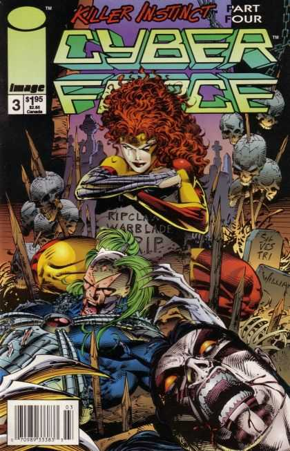 Cyberforce 3 - Marc Silvestri, Pat Lee