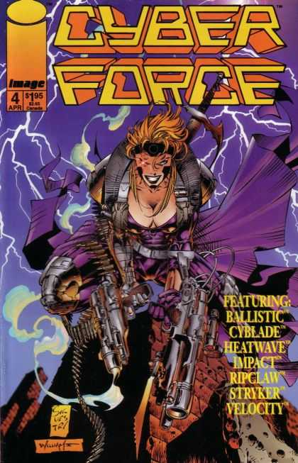 Cyberforce 4 - Marc Silvestri, Pat Lee
