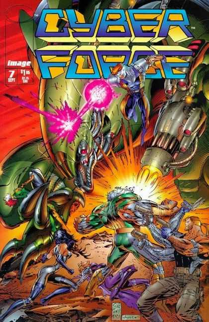 Cyberforce 7 - Marc Silvestri, Scott Williams