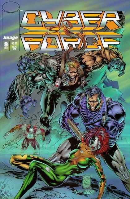 Cyberforce 9 - Image - Dec 9 - Force - Cyber - Battle - Marc Silvestri