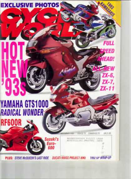 Cycle World - December 1992