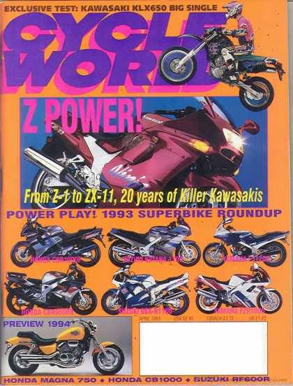 Cycle World - April 1993