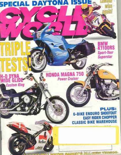 Cycle World - June 1993