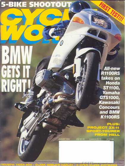 Cycle World - August 1993