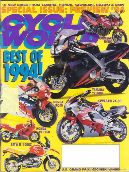 Cycle World - December 1993